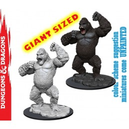 DUNGEONS AND DRAGONS NOLZUR'S GIANT APE GIANT SIZED MINIATURE WIZKIDS