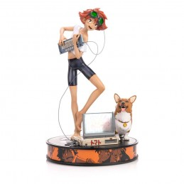 FIRST4FIGURES COWBOY BEBOP ED AND EIN 44CM STATUE FIGURE