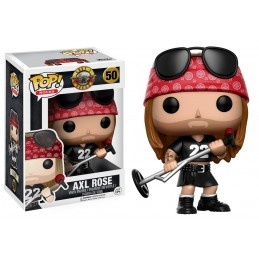 FUNKO POP! GUNS N ROSES - AXL ROSE BOBBLE HEAD KNOCKER FIGURE