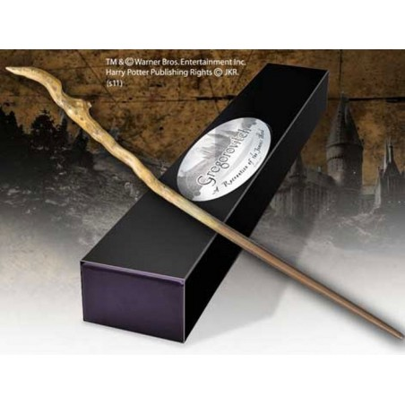 HARRY POTTER WAND GREGOROVITCH REPLICA BACCHETTA