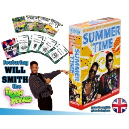 WIZKIDS DJ JAZZY JEFF AND THE FRESH PRINCE SUMMERTIME BOARD GAME