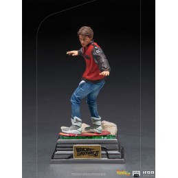 IRON STUDIOS BACK TO THE FUTURE 2 MARTY MCFLY ON HOVERBOARD ART SCALE 1/10 STATUE FIGURE