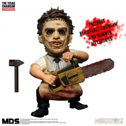 MDS THE TEXAS CHAINSAW MASSACRE 1974 LEATHERFACE ACTION FIGURE MEZCO TOYS
