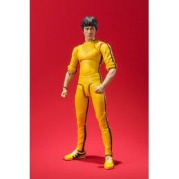 BRUCE LEE YELLOW SUIT S.H. FIGUARTS SHF ACTION FIGURE BANDAI