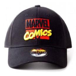 DIFUZED BASEBALL CAP MARVEL COMICS 3D LOGO