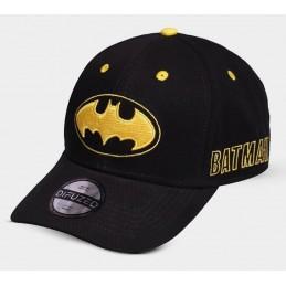 CAPPELLO BASEBALL CAP BATMAN LOGO GOLD NERO DIFUZED