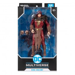 DC MULTIVERSE KING SHAZAM THE INFECTED ACTION FIGURE MC FARLANE