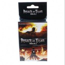 ATTACK ON TITAN PLAYING CARDS - L'ATTACCO DEI GIGANTI MAZZO CARTE DA GIOCO
