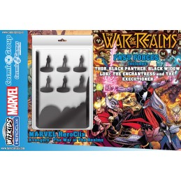 WIZKIDS MARVEL HEROCLIX AVENGERS THE WAR OF THE REALMS FAST FORCES