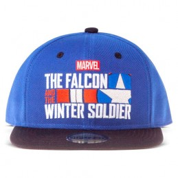 CAPPELLO BASEBALL CAP MARVEL THE FALCON AND THE WINTER SOLDIER DIFUZED