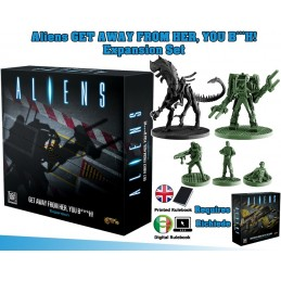 GF9-BATTLEFRONT ALIENS GET AWAY FROM HER YOU B***H ESPANSION SET BOARDGAME
