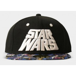 DIFUZED BASEBALL CAP STAR WARS PRINT POSTER