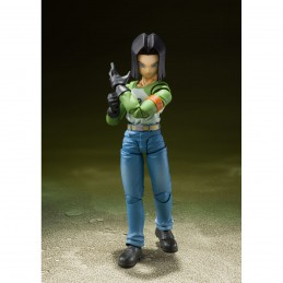 DRAGON BALL SUPER ANDROID 17 S.H. FIGUARTS ACTION FIGURE BANDAI