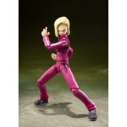 DRAGON BALL SUPER ANDROID 18 S.H. FIGUARTS ACTION FIGURE BANDAI