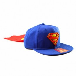 BIOWORLD BASEBALL CAP SUPERMAN LOGO CAPED