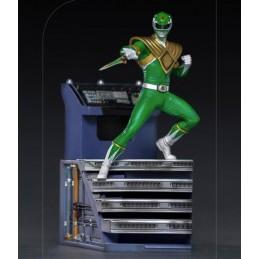 IRON STUDIOS POWER RANGERS - GREEN RANGER BDS ART SCALE 1/10 STATUE FIGURE