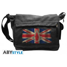 ASSASSIN'S CREED SYNDACATE UNION JACK MESSENGER BAG BORSA A TRACOLLA ABYSTYLE