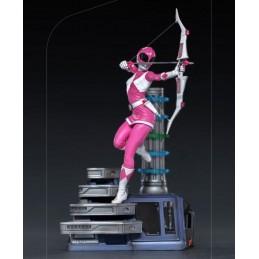 POWER RANGERS - PINK RANGER BDS ART SCALE 1/10 STATUA FIGURE IRON STUDIOS