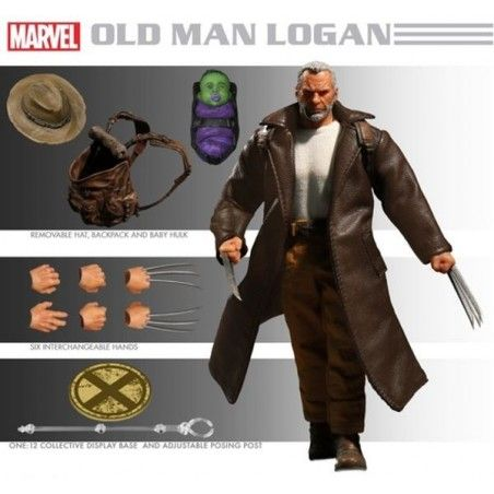 MARVEL WOLVERINE OLD MAN LOGAN CLOTH ACTION FIGURE