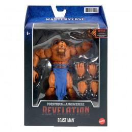 MATTEL MASTERS OF THE UNIVERSE REVELATION BEAST MAN ACTION FIGURE
