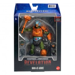 MATTEL MASTERS OF THE UNIVERSE REVELATION MAN-AT-ARMS ACTION FIGURE