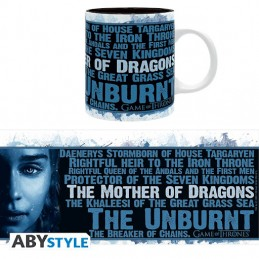 GAME OF THRONES DAENERYS MUG TAZZA IN CERAMICA ABYSTYLE