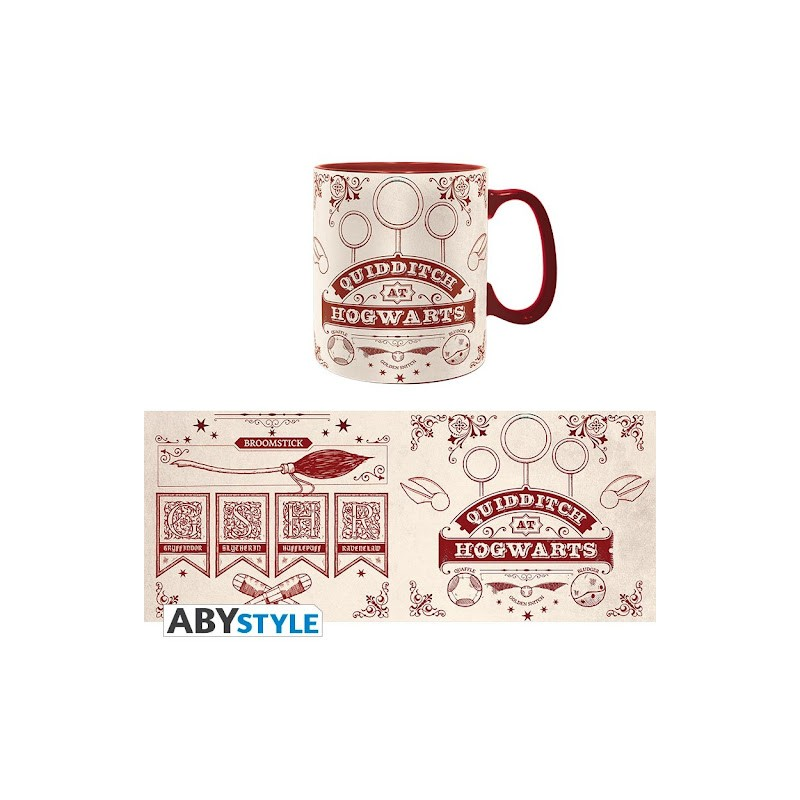 ABYSTYLE HARRY POTTER QUIDDITCH CERAMIC MUG