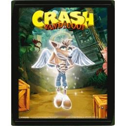 PYRAMID INTERNATIONAL CRASH BANDICOOT GAME OVER LENTICULAR 3D POSTER 25X20CM