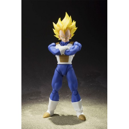 DRAGON BALL Z SUPER SAIYAN VEGETA S.H. FIGUARTS ACTION FIGURE