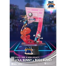 BEAST KINGDOM D-STAGE SPACE JAM 2 A NEW LEGACY LOLA AND BUGS BUNNY STATUE FIGURE DIORAMA