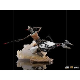 IRON STUDIOS THE MANDALORIAN IG-11 AND THE CHILD BDS ART SCALE 1/10 STATUE FIGURE