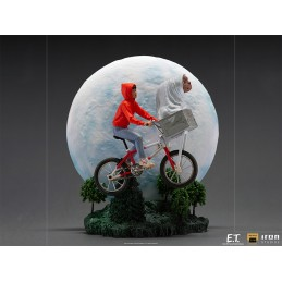 E.T. THE EXTRA-TERRESTRIAL AND ELLIOT BDS ART SCALE DELUXE 1/10 STATUA FIGURE IRON STUDIOS