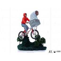 E.T. THE EXTRA-TERRESTRIAL AND ELLIOT BDS ART SCALE 1/10 STATUA FIGURE IRON STUDIOS
