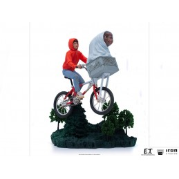 IRON STUDIOS E.T. THE EXTRA-TERRESTRIAL AND ELLIOT BDS ART SCALE 1/10 STATUE FIGURE