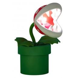 SUPERMARIO PIRANHA PLANT POSABLE LAMP LAMPADA POSABILE PALADONE PRODUCTS