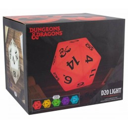 DUNGEONS AND DRAGONS D20 LIGHT MULTICOLOR LAMPADA PALADONE PRODUCTS