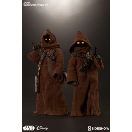 "STAR WARS JAWA SIXTH SCALE SET 12"" ACTION FIGURE"