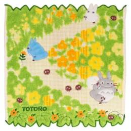 STUDIO GHIBLI TOTORO YELLOW FLOWERS STUDIO GHIBLI MINI TOWEL 25X25CM