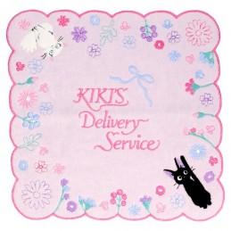 KIKI DELIVERY SERVICE JIJI AND LILY STUDIO GHIBLI MINI TOWEL ASCIUGAMANO 25X25CM STUDIO GHIBLI
