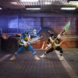 HASBRO POWER RANGERS X TMNT MORPHED DONATELLO AND MORPHED LEONARDO ACTION FIGURE