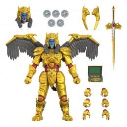 SUPER7 MIGHTY MORPHIN POWER RANGERS ULTIMATES GOLDAR ACTION FIGURE