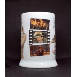MINE LUPIN III THE FIRST 3D MOVIE INSPECTOR ZENIGATA CERAMIC TANKARD
