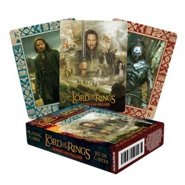 AQUARIUS ENT LORD OF THE RINGS HEROES AND VILLAINS POKER PLAYING CARDS