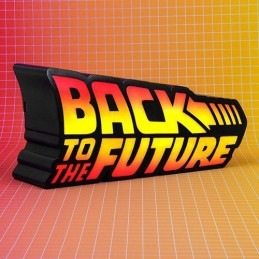 FIZZ CREATIONS BACK TO THE FUTURE LOGO LED LAMP 25CM