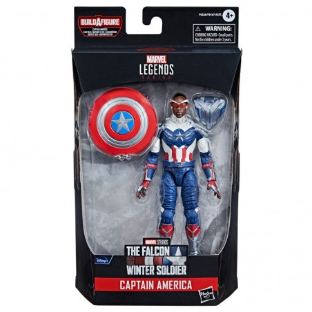 MARVEL LEGENDS THE FALCON AND THE WINTER SOLDIER CAPTAIN AMERICA ACTION FIGURE