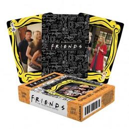 FRIENDS POKER PLAYING CARDS MAZZO CARTE DA GIOCO AQUARIUS ENT