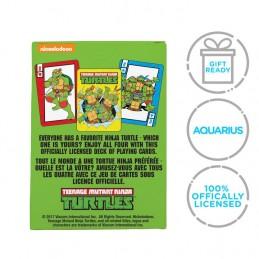 AQUARIUS ENT TMNT TEENAGE MUTANT NINJA TURTLES POKER PLAYING CARDS
