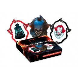 IT CHAPTER TWO PENNYWISE SHAPED POKER PLAYING CARDS