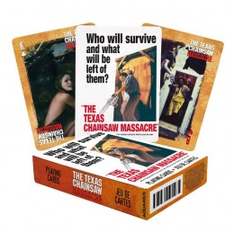 AQUARIUS ENT THE TEXAS CHAINSAW MASSACRE POKER PLAYING CARDS