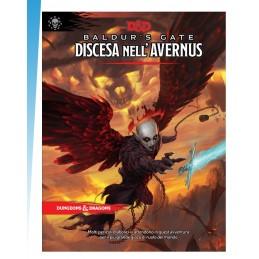 DUNGEONS AND DRAGONS 5 BALDUR'S GATE DISCESA NELL'AVERNUS ASMODEE